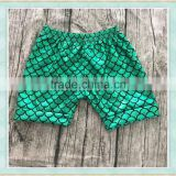 2017 new style baby green scale design summer casual swim shorts
