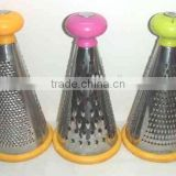 "2014 hot sale stainless steel 8"" conical kitchen grater"
