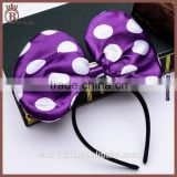 LED Cute Bow Knot Hairband Cosplay Masquerade Party Headband For Girls
