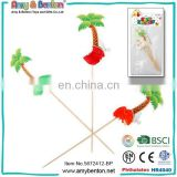 Party Supplies Funny Coconut Tree Stick for Sale 12pcs