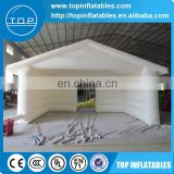 Alibaba hot sale white PVC inflatable tent price