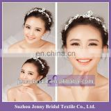 BHA001 elegant charming crown Jewelry Wedding hair Accessories diamond cheap tiara