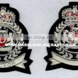 2015 New Zari Hand Embroidery Badges