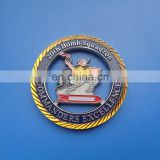 double side gold siver plating effect bomb squadron commanders excellence prize collection souvenir coin