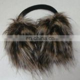 imitated turkey fur muff