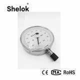 High precision stainless steel pressure gauge manometer price