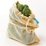 LOONDE BAG Cotton Bags, Small-Medium-Large, Natural