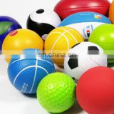 Reach report antistress ball pu foam ball 6.3cm