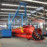 12inch hydraulic river sand dredger vessel for dredging work.