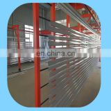 Compact powder coating line of aluminium profiles