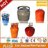 Factory Supply LPG Gas Cylinder Empty Camping Engry Tank Cooking Canisters Home Container Kitchen, Cooking Gas Cylinder