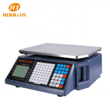 Factory Price RLS1000B Table Top Barcode Label Printing Scales
