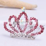 wedding tiara FZZ-252 wholesale Rhinestone color