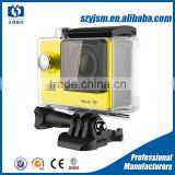 Cheap factory price 900mAh waterproof 2-inch LCD H9 Sports Action Camera dv Support HDD / Flash Memory Media Type
