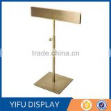 Metal Desktop Gold Paint A4 A3 Poster Stand Poster Display Rack Advertising Stand Sign Stand