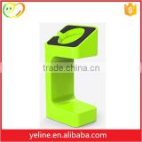 Fashion bright color vertical display holder for Apple Watch Charging & Stand