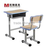Adjustable school furniture table and chair/Study table and chair/Student desk and chair/Kids school furniture