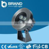 High Quality Stainless Steel IP68 DMX controlled 28W 24W Face Mounted RGB LED Underwater Light