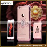 New arrival diamond phone case for iphone 6 mobile cover / custom soft clear tpu case                                                                                                         Supplier's Choice