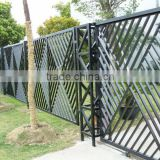 Wrought iron gate models MADE in FACTORY with in-house powder coat line