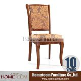 High quality!wood chair with fabric seat/Antique wood chair