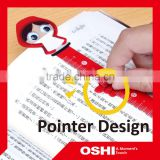 Hot sell high quality wholesale creative promotional advertising Magnetic Target bookmark