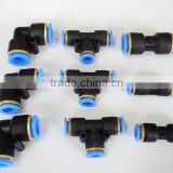 China pneumatic fast connection, plastic quick coupling pipe fitting,automatic coupler