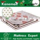 Top rated Thailand natural latex pillow top pocket spring vacuum compress package festival mattress for marrige event