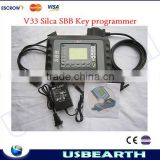 shipping by DHL/EMS/UPS,High quality V33 Silca SBB Key programmer, is 2014 new,PRGMR Programmer