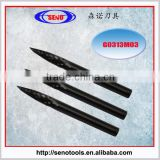 tungsten carbide rotary burrs for wood cutting G0313M03