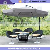 Sun protection polyester fabric side Rod Umbrella