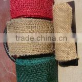 jute belt burlap ribbon