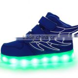 Hot Sale Kids Girls Boys LED Sneakers Luminous Casual Simulation Flashing Usb Charger Led Light Up Kids Shoes