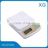 electronic digital kitchen scale/portable kitchen mini diet weighting scale 5kg/weight scale 7kg