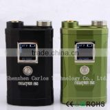 Alibaba express high quality megatron 260w box mod black megatron box mod 260w megatron mod mechanical mod