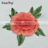 New wholesale 3D flower embroidery patch for clothing                                                                         Quality Choice