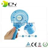 12V factory price handheld Rechargeable Fan Portable Handheld Mini Fan Battery Operated Cooling Electric Personal Fan Foldable