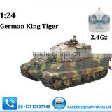 1:24 rc king tiger tank