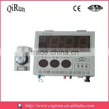 Hot sale hanging molten steel microcomputer digital thermometer 8 inches(With separate clock)