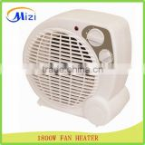 2015 electric fan heater new model 1800W