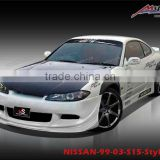 Body kits for NISSAN-99-03-S15-Style HK
