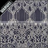 65% polyester 35% cotton poplin fabric stocks textile new arrival thick african french chemical lace fabric