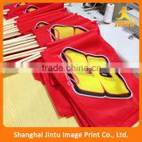 2016 decorative party banner flags,customized polyester hand flag,custom outdoor banner and flag                                                                         Quality Choice