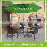 Use for phone,pad,tablet pc charging USB solar charger umbrella
