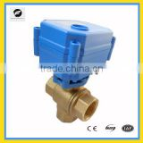 3 way motorized valve for heating, Leak detection&water shut off system,Water saving system, automatic control valve
