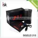 Electronic Cigarette sigelei 213w box mod sigelei new part sigelei t150 touch screen sigelei mod wholesale from China