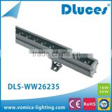 18watt 36watt LED Wall washer light Outdoor lighting with aluminum alloy housing and Tempered glass diffuser