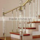 Crystal Stair Railing Decorative Building Pillar