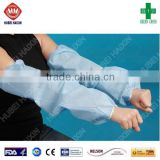 Food Industry Safety protection Disposable non-woven polypropylene oversleeves elastic cuff sleeve cover