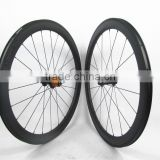 Strong and Stiff! Far Sports 2016 new U shape 50mm clincher bicycle wheels carbon, 23mm wide carbon fiber wheels for road bike